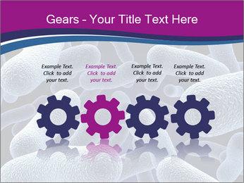 Blue Microbes Modèles des présentations  PowerPoint - Diapositives 48
