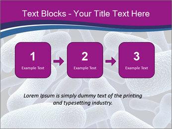 Blue Microbes Modèles des présentations  PowerPoint - Diapositives 71