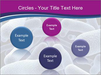 Blue Microbes Modèles des présentations  PowerPoint - Diapositives 77