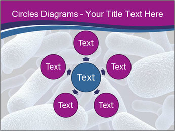 Blue Microbes Modèles des présentations  PowerPoint - Diapositives 78