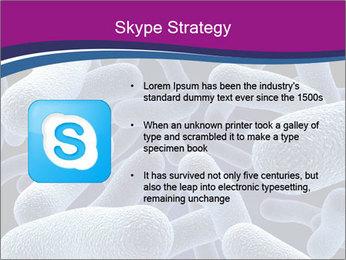 Blue Microbes Modèles des présentations  PowerPoint - Diapositives 8