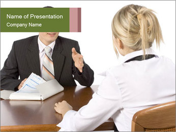 Financial Consultation PowerPoint Template