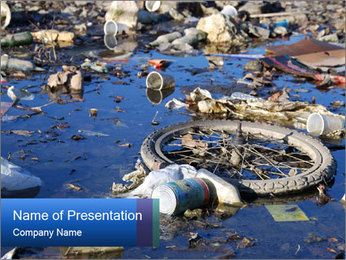 Polluted Environment PowerPoint Template