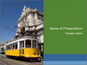 Old Tram PowerPoint Templates