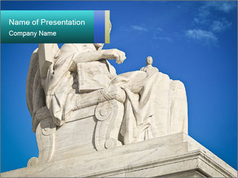 Marble Monument PowerPoint Template