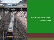 Train Transit PowerPoint Templates