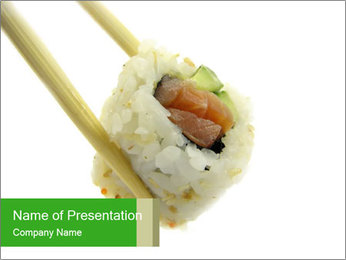 One Piece of Roll PowerPoint Template