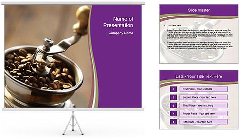 Turkish Coffee Modèles des présentations  PowerPoint