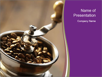 Turkish Coffee Sjablonen PowerPoint presentatie