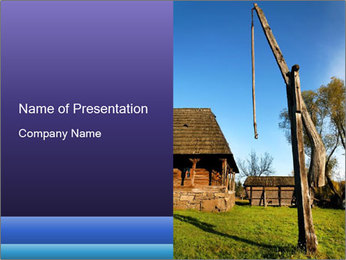 Ukrainian Village Modèles des présentations  PowerPoint