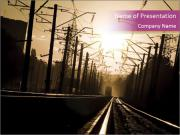 Electric Lines PowerPoint Templates