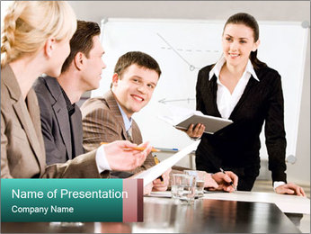 Leadership Meeting PowerPoint Template