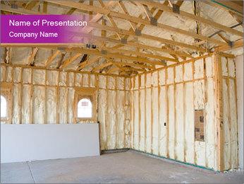 House Under Construction Modelos de apresentações PowerPoint