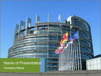 European Parliament PowerPoint Template