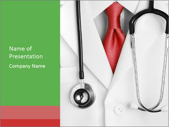 Health Consultant PowerPoint Template