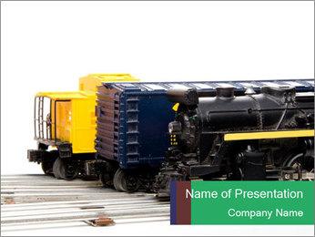 Train Trucks PowerPoint Template