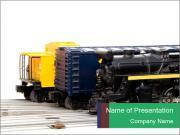 Train Trucks PowerPoint Templates
