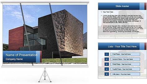 Скачать шаблоны презентаций powerpoint дом