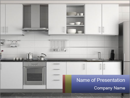 New kitchen powerpoint template backgrounds id 0000026724 new kitchen powerpoint template toneelgroepblik Gallery