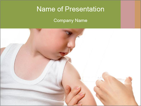 Kid receiving vaccine powerpoint template backgrounds id kid receiving vaccine powerpoint template toneelgroepblik Gallery