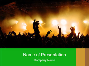 Open Air Party PowerPoint Template