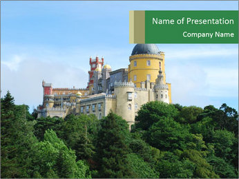 Historical Castle PowerPoint Template