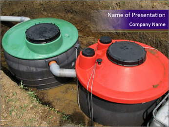 Water System PowerPoint Template