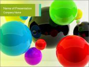 Digital Balls Шаблоны презентаций PowerPoint