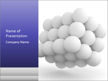 Molecule Structure PowerPoint Template