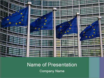 European Commission PowerPoint Template