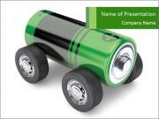 New Electromobile Modèles des présentations  PowerPoint