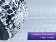 Change Winter Tyre PowerPoint presentationsmallar