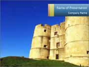 Antient Fortification PowerPoint Templates