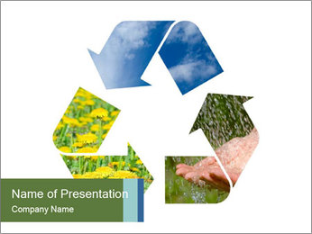 Recycling Concept PowerPoint Template