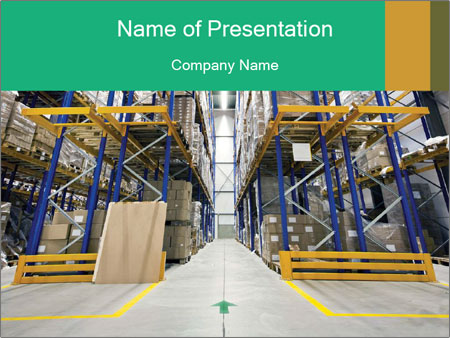 Warehouse powerpoint template smiletemplates logistics warehouse powerpoint template toneelgroepblik Images