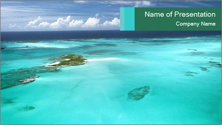 caribbean fantasy powerpoint template backgrounds google slides