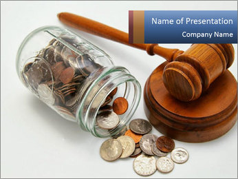 Bankruptcy PowerPoint Template