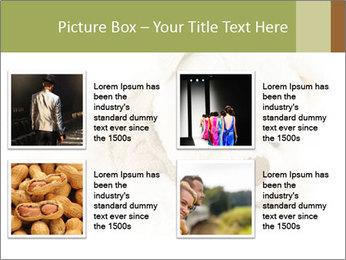 Beige Teddy Bear Modèles des présentations  PowerPoint - Diapositives 14