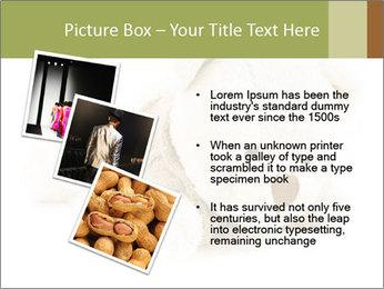 Beige Teddy Bear Modèles des présentations  PowerPoint - Diapositives 17