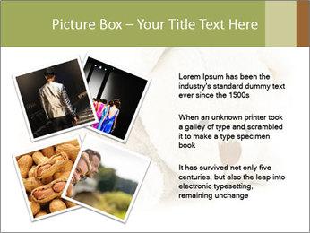 Beige Teddy Bear Modèles des présentations  PowerPoint - Diapositives 23