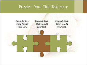 Beige Teddy Bear Modèles des présentations  PowerPoint - Diapositives 42