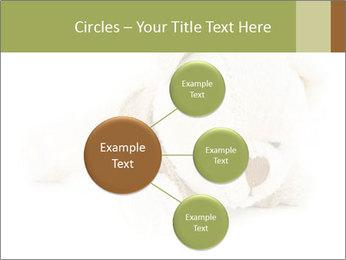 Beige Teddy Bear Modèles des présentations  PowerPoint - Diapositives 79