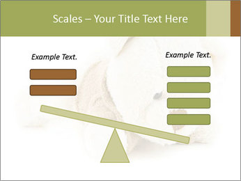 Beige Teddy Bear Modèles des présentations  PowerPoint - Diapositives 89