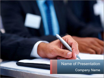 Business Agreement PowerPoint Template