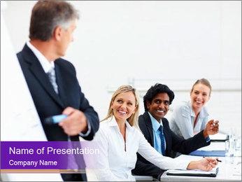 Business Speaker Modèles des présentations  PowerPoint