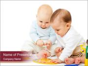 Creative Babies PowerPoint Templates