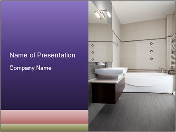 Luxurious Bathroom PowerPoint Template