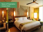 Bedroom in Hotel PowerPoint Templates