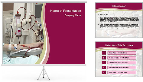 Dialysis Session PowerPoint Template Backgrounds ID 0000027346 – Powerpoint Flyer Template