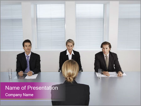 Job interview powerpoint template backgrounds id 0000027388 job interview powerpoint templates toneelgroepblik Choice Image